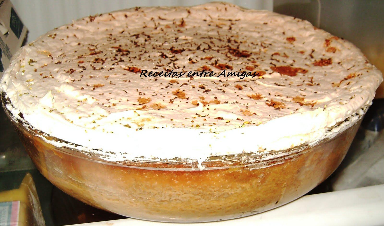 Torta de maça argentina e leite condensado- magnífica !!!!