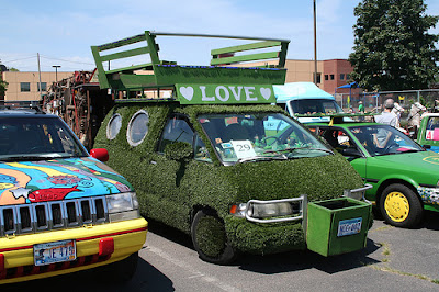 15 Cool Grass Covered Cars (16) 6