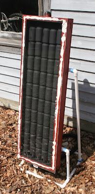 Soda Can Solar Panel