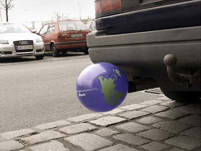 Clever and Creative Advertisements Inspired by Vehicles' Exhaust Pipes (9) 5