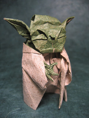 Starwars Origami: yoda