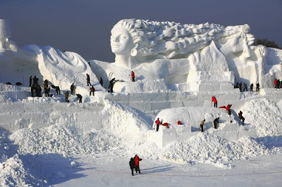 Most Creative Ice and Snow Sculptures 10