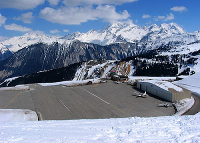 Courchevel Airport - Steepest runway (9) 2