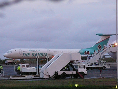 Air transportation for the President of the Gambia