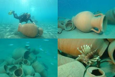 articles used for making of a artificial reef
