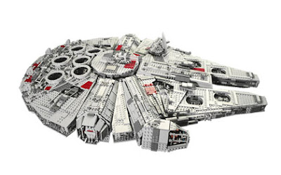 Lego Starwars Millennium Falcon (3) 1