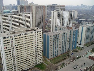 St. James Town apartments in Downtown Toronto
