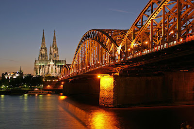 Hohenzollernbrucke Railway Bridge