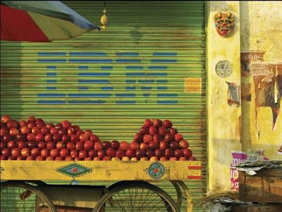 IBM & apples funny