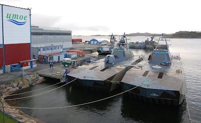 Skjold class patrol boats