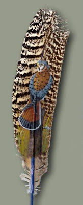 Feather Paintings (21) 11