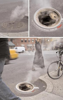 Creative and Clever Uses of Manhole In Advertisements (6) 5
