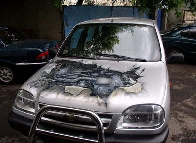 Custom Painted Cars (18) 9