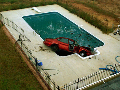 Car Gone For Swim (7) 2