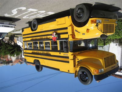 Upside Down Bus
