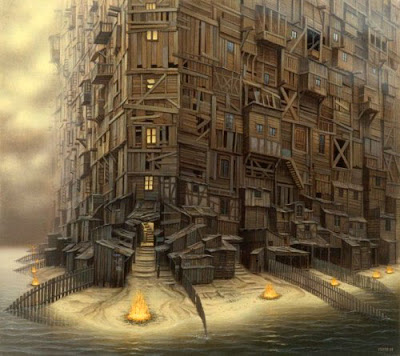Fictional Surreal Art By Jacek Yerka (11) 1