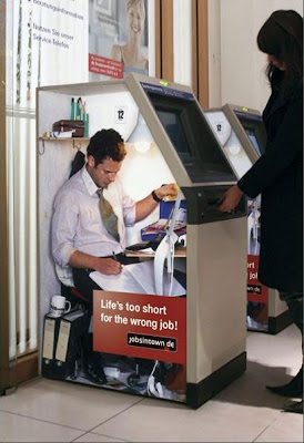Creative Advertisements: Life Is Too Short For Wrong Jobs (4)