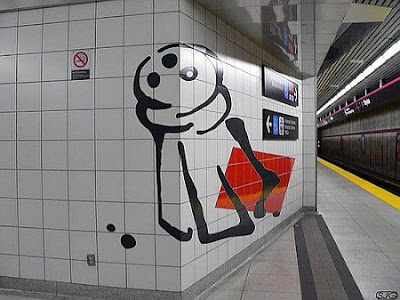 Perspective Art At A Subway (11) 2