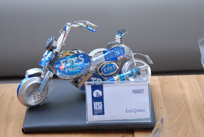 Art With Beer Cans - bike