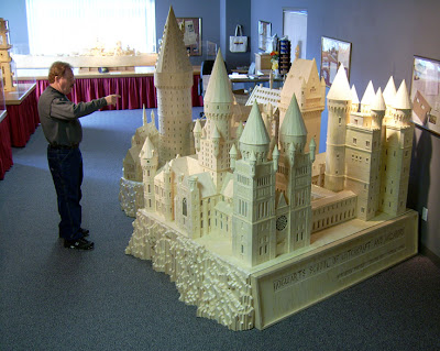 Matchstick Marvel of Harry Potter's Hogwarts 2