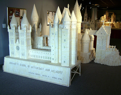 Matchstick Marvel of Harry Potter's Hogwarts 5
