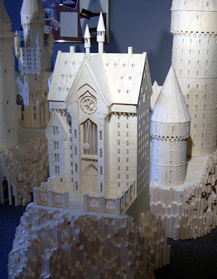 Matchstick Marvel of Harry Potter's Hogwarts 6