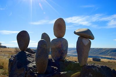 Rock Balancing 10