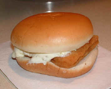 McDonald's Fillet o Fish Sandwich 2