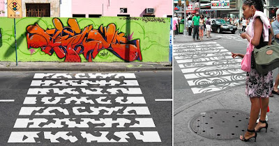 30 Cool and Creative Crosswalk Designs (27) 9
