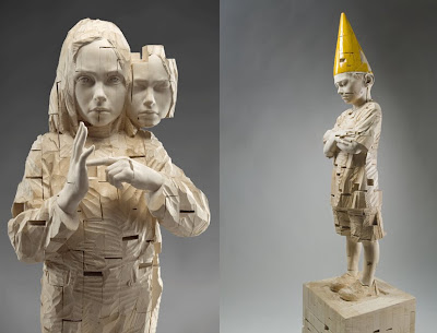 Impressive Wood Sculptures by Gehard Demetz (9) 9