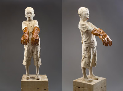 Impressive Wood Sculptures by Gehard Demetz (9) 2
