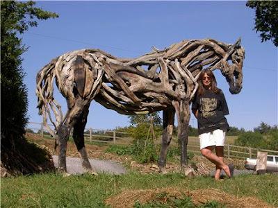 Driftwood Horse Art (14) 12
