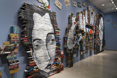 Cool and Creative Ways To Reuse Books (50) 3