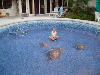 Changing The Look Of Swimming Pool 3D Ceramic Tile Art (11) 2