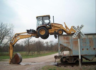 heavy machinery doing acrobatics (5) 4