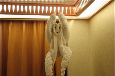 Cute Folded Towel Animals (7) 2