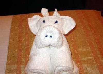 Cute Folded Towel Animals (7) 4