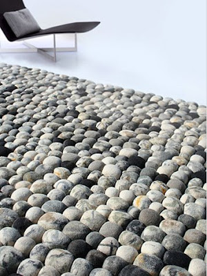 River Pebble Modern Rug