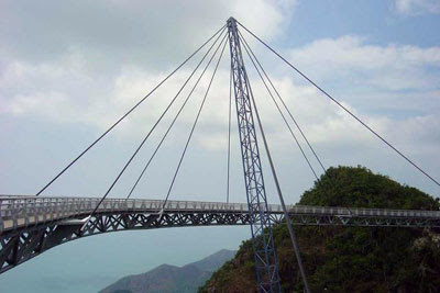 Interesting Pedestrian Bridge - Pulau Langkawi, Sky Bridge (6) 6