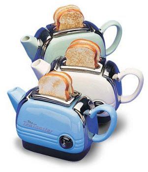 Toaster teapot