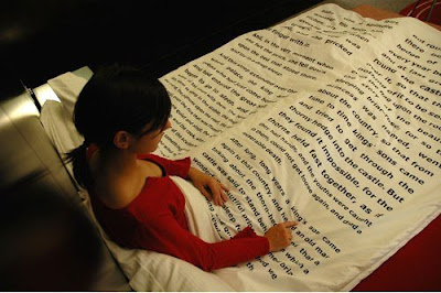 Interesting bedsheet