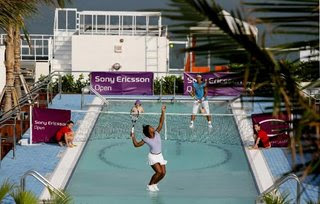 Tennis court over water (2) 2