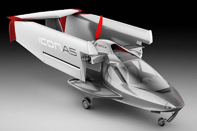 Foldable Plane - ICON A5 (2) 2