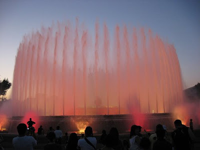 Montjuic's Magic Fountain (11) 5