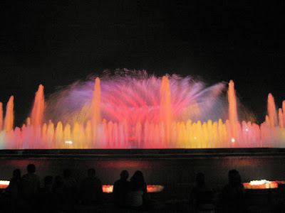 Montjuic's Magic Fountain (11) 2
