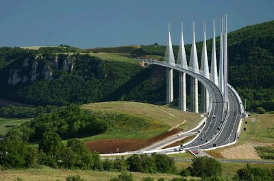 The Tallest Vehicular Bridge In The World - The Millau Viaduct (11) 11