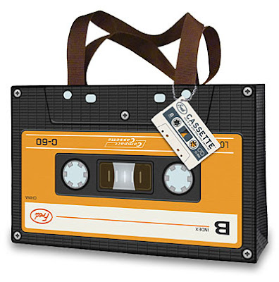 Cassette Tape Tote Bag