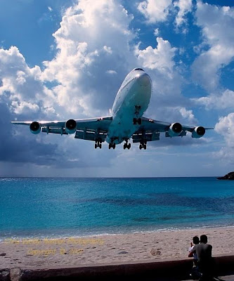 Maho Beach And Its Low Flying Planes (10) 10