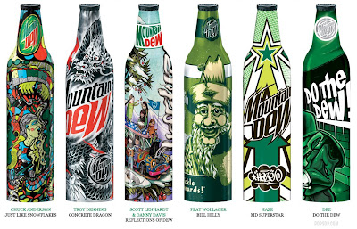 Mountain Dew Limited Edition: Green Label Art 2008 (4) 2