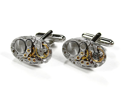 Handmade Luxury Designer Watch Cufflinks (9)  7